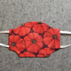 Tomato Red Pin Cushion Cotton Face Mask